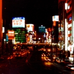 Japan - Tokyo - Shinjuku district. If there is anything the modern Japanese really appreciates it is the neon lighting of their economic miracle