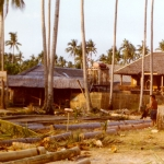 Philippines - Building new cabins on Boracay