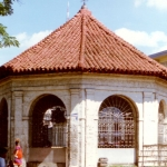 Philippines - Building in Cebu City containing cross planted by Fernando Magellan in 1521