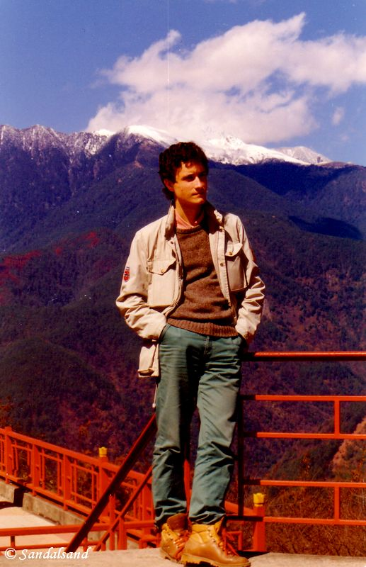 Taiwan - Alishan - 2500 metres above sea level - 1985 - Bård Humberset, the author of Sandalsand