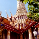 Thailand - Grand Palace roof, Bangkok
