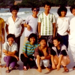 Thailand - Thai youngsters on Koh Samet