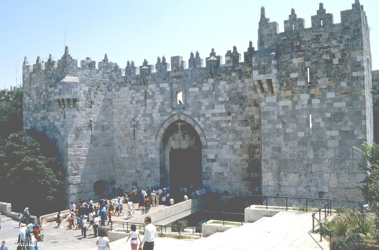 Israel / Palestine - Jerusalem Old Town - Damascus Gate