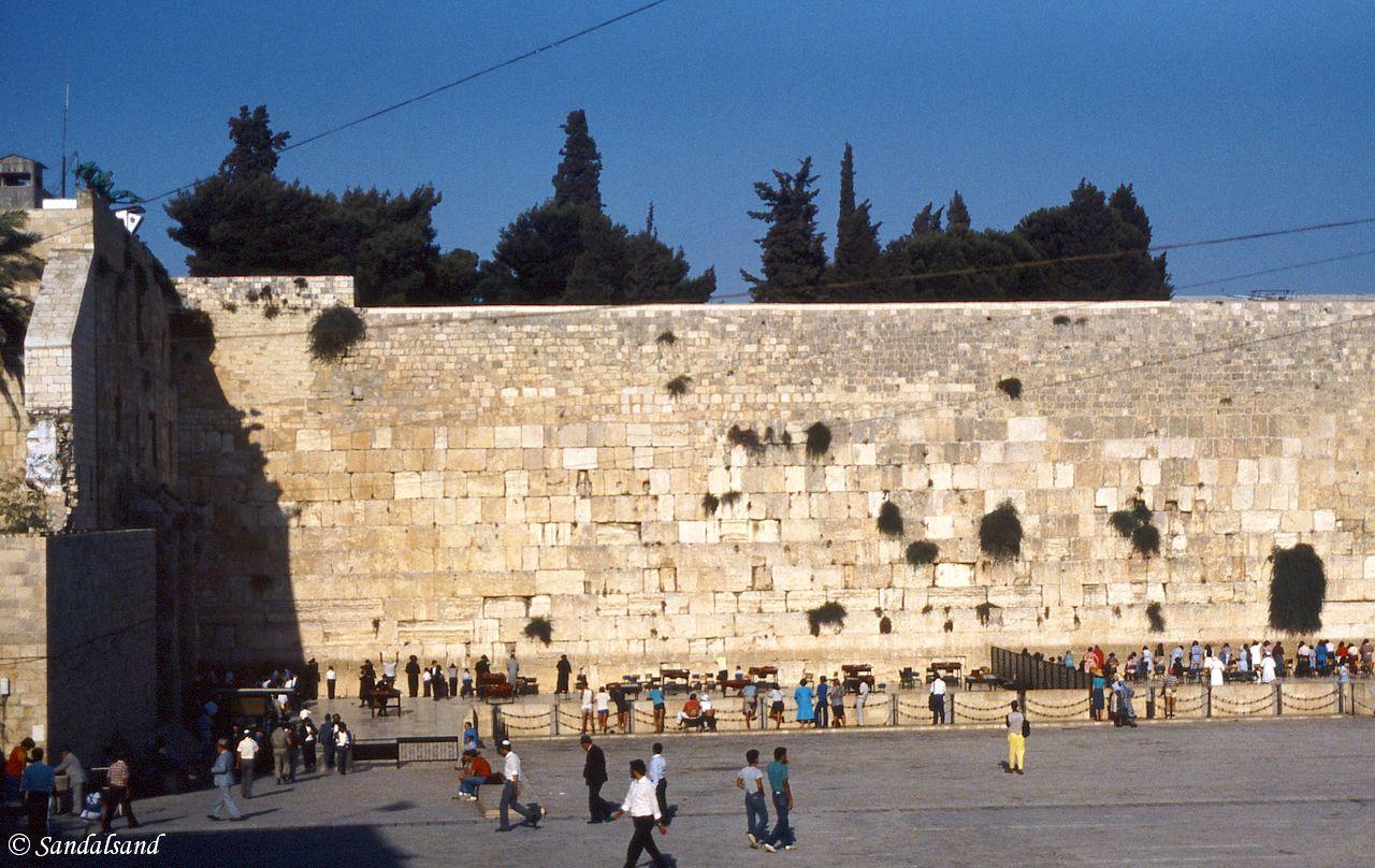 Israel / Palestine - Jerusalem Old Town - Wailing Wall