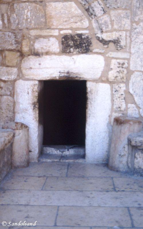 Palestine - Bethlehem - Church of the Nativity entrance