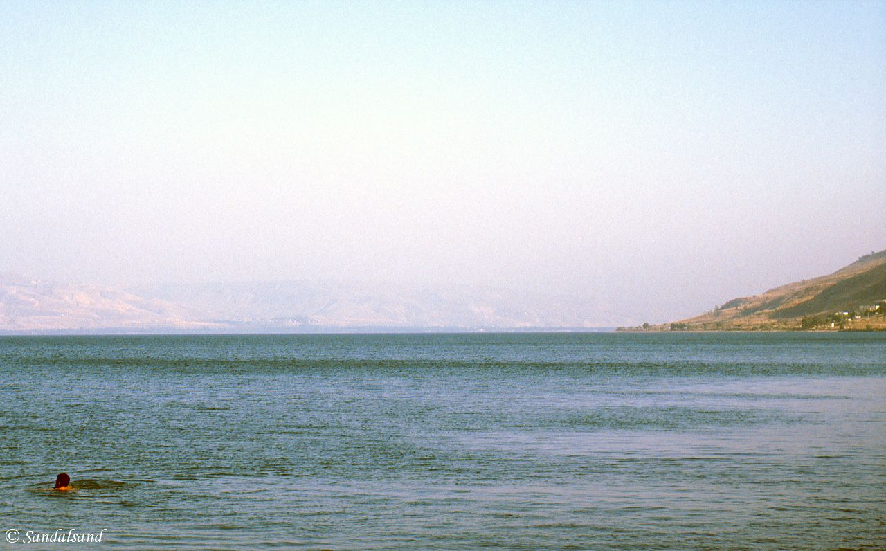 Israel - Sea of Galilee - South from Tiberias
