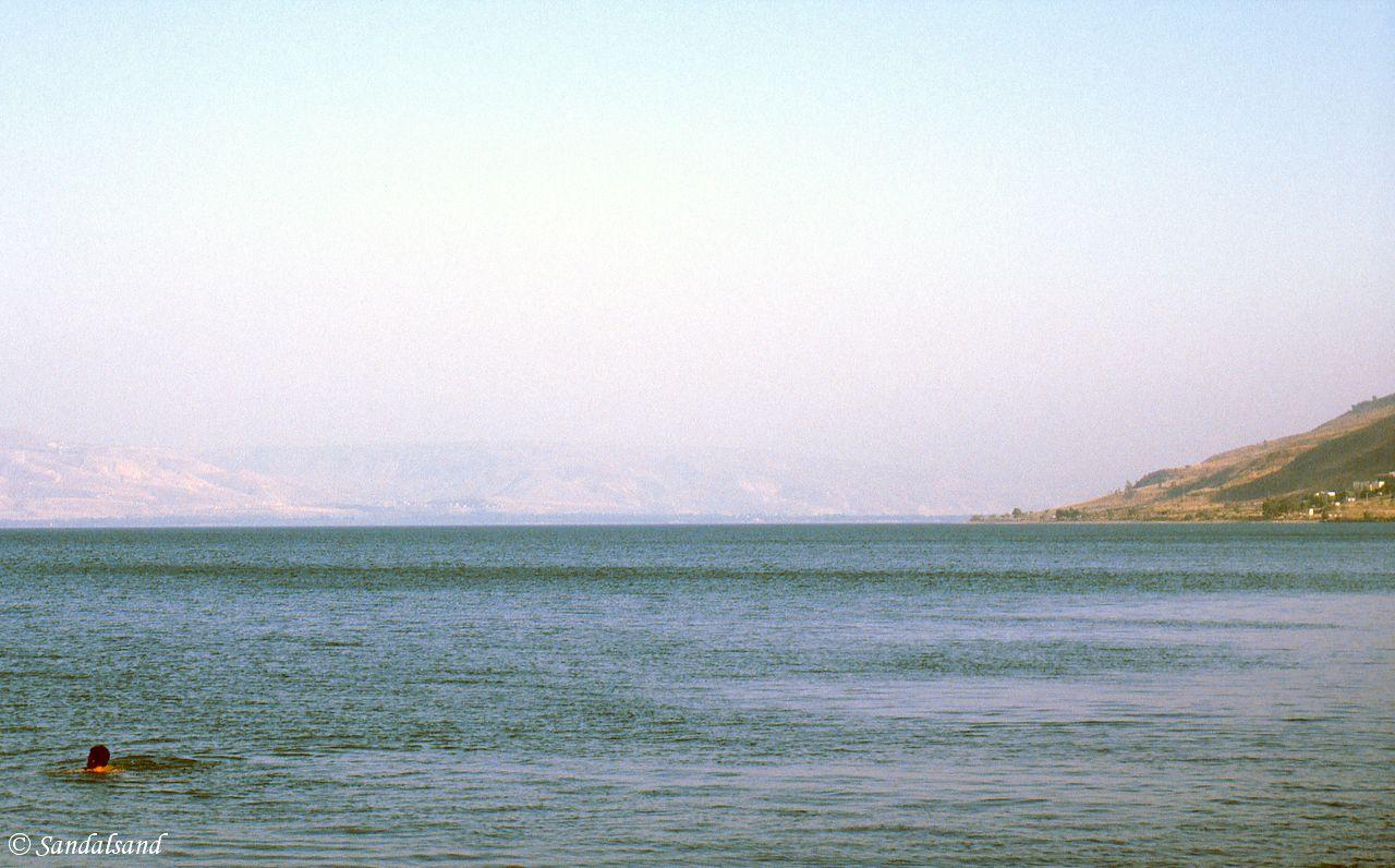 Israel - Sea of Galilee - South from Tiberias