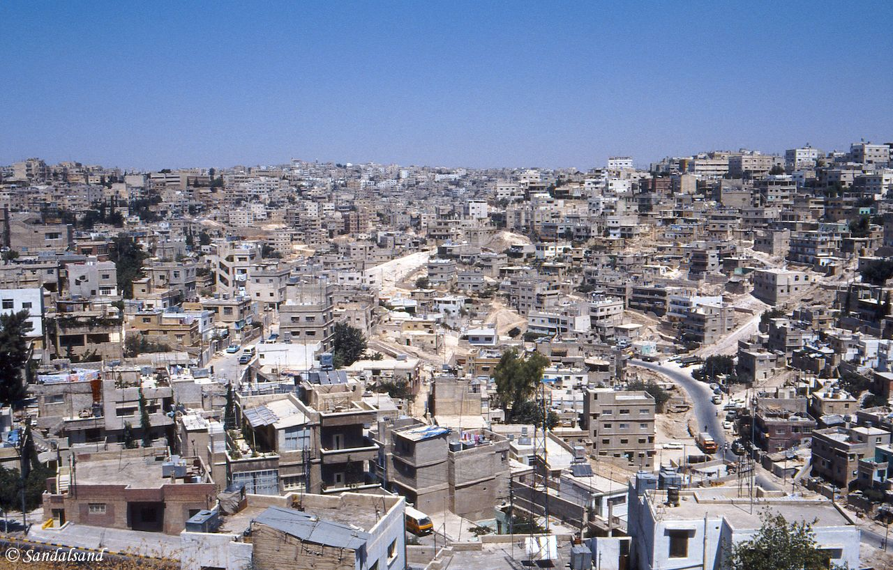 Jordan - Amman - View from the Hussein Heights