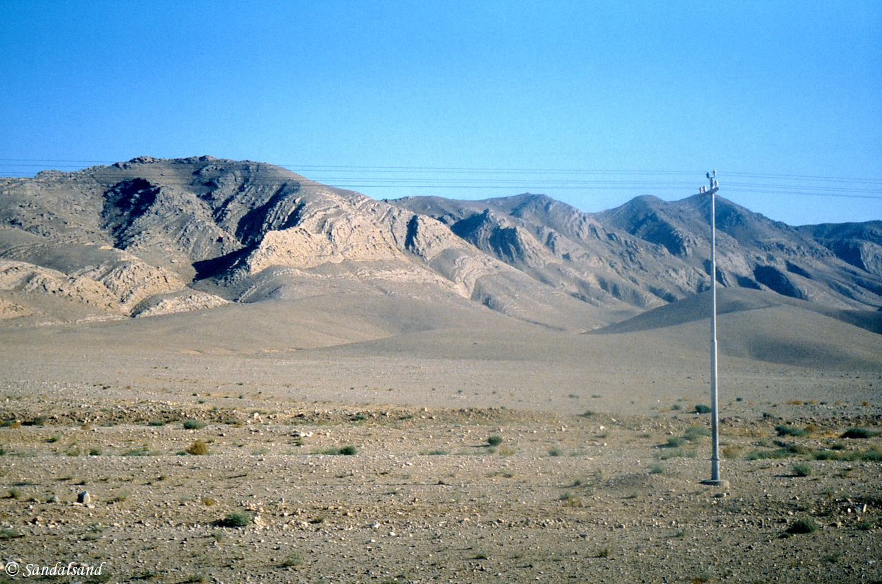 Syria - The desert west of Palmyra