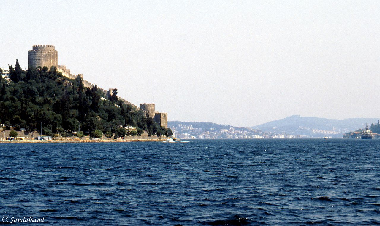 Turkey - Istanbul - Rumeli Hisar Fortress at the narrowest point of the strait