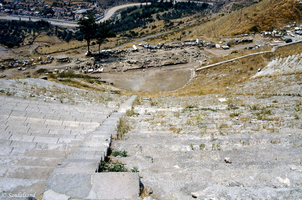 Turkey - Bergama - Theatre seating 15,000 in Pergamon