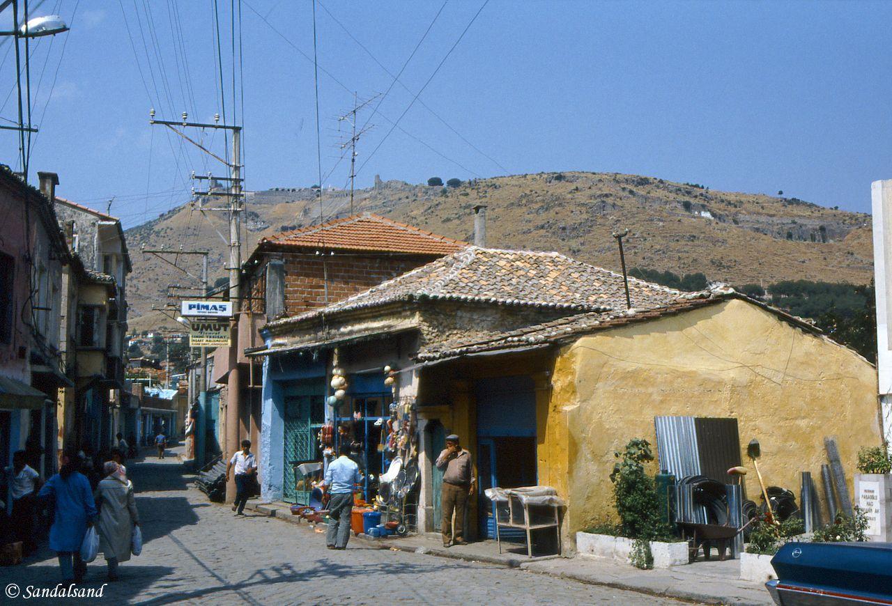 Turkey - Bergama - View up to the ancient Pergamon