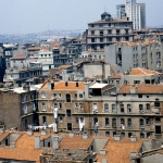 Turkey  - Istanbul - The district below the Galata Tower