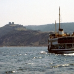 Turkey - Istanbul - The boat I took across the strait
