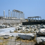 Turkey - Bergama - Site of the Athena temple in Pergamon