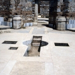 Turkey - Efes - St. John Basilica with baptismal font in ancient Efesos