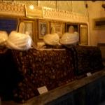 Turkey - Konya - Sarcophagus in the Nevlana Museum - The Whirling Dervishes