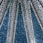 Turkey - Konya - Part of the ceiling in a mosque or museum