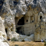 Turkey - Göreme - From a small area with 365 churches (caves) - This is one of the largest