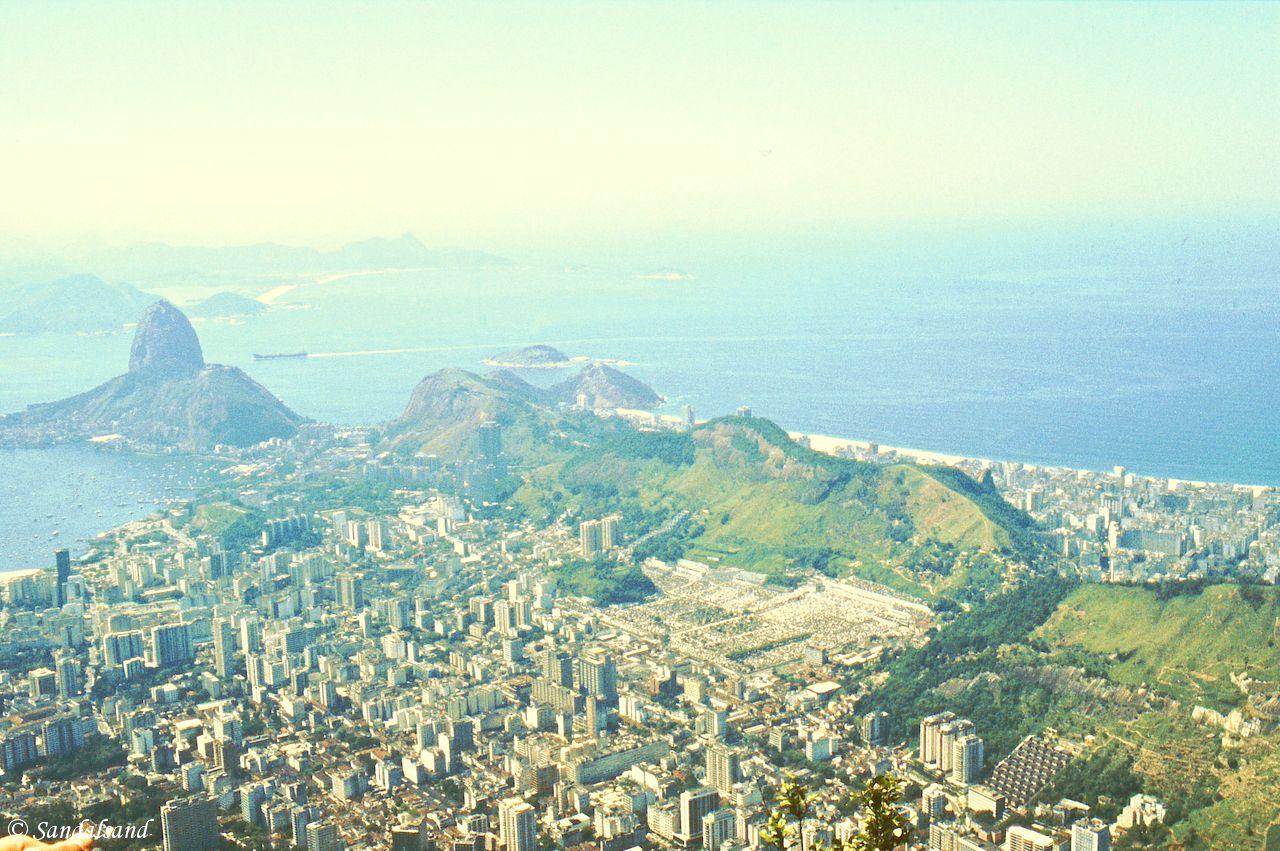 Brazil - Rio de Janeiro - View of Guanara Bay from Corcovado