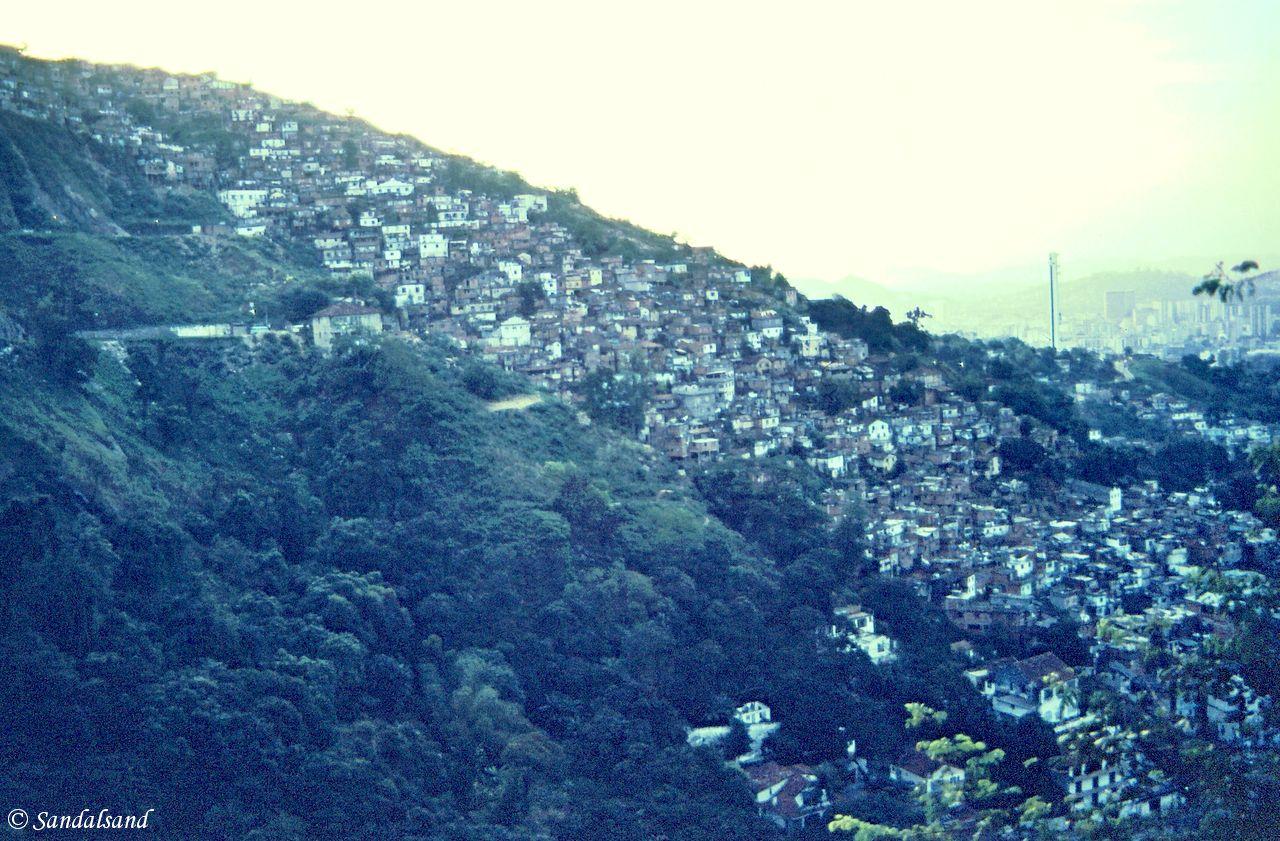 Brazil - Rio de Janeiro - Hillside Favela in Rio