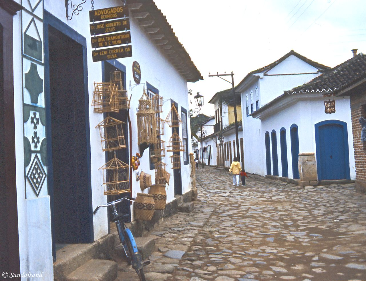 Brazil - Paraty - Colonial style houses