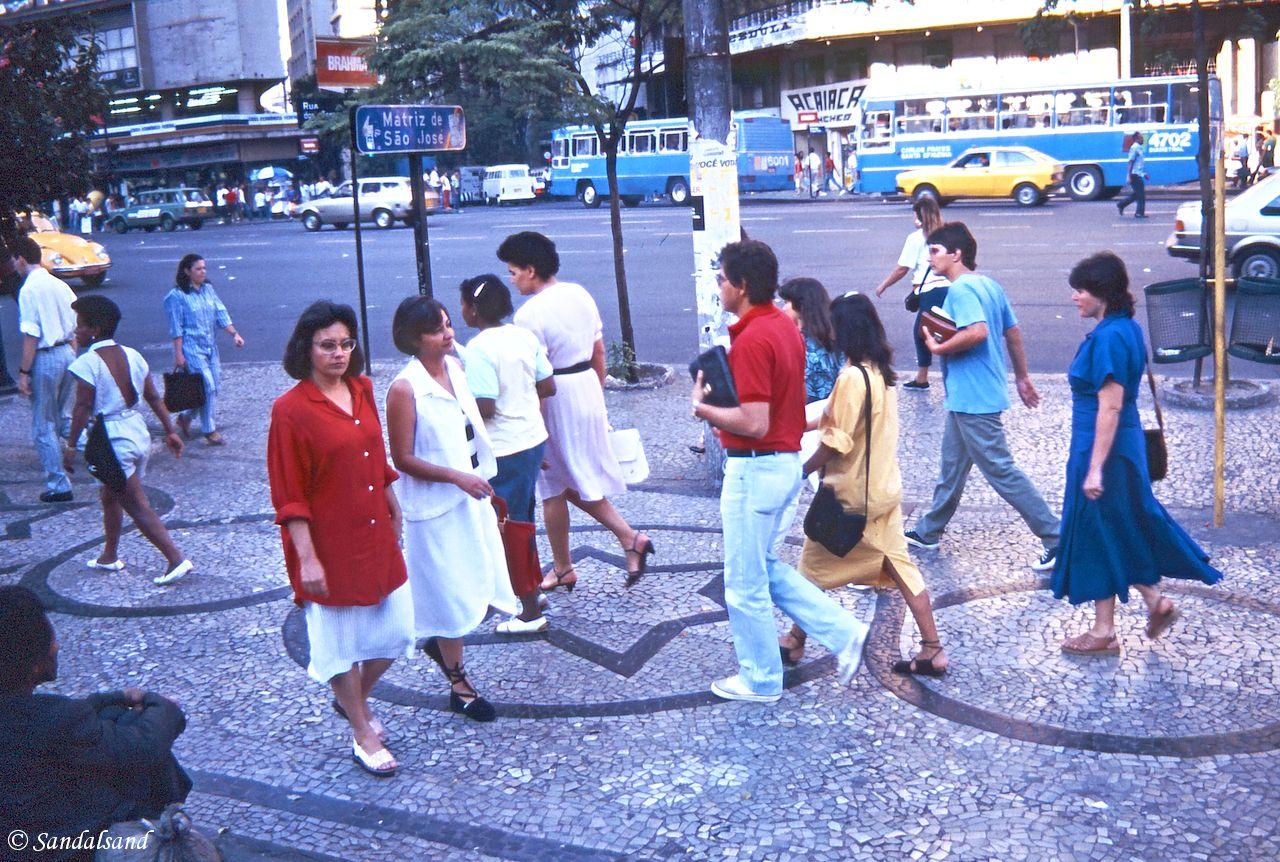 Brazil - Belo Horizonte - Hallucinating pavement