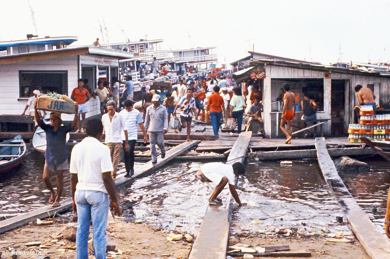 Brazil - Manaus - Riverside area