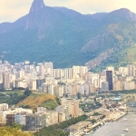 Brazil - Rio de Janeiro - View of Rio and Corcovado from the Sugarloaf Mountain