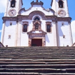 Brazil - Ouro Preto - Church and steps