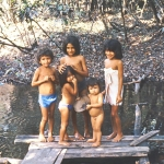 Brazil - Amazonas safari - Children in the Amazon jungle