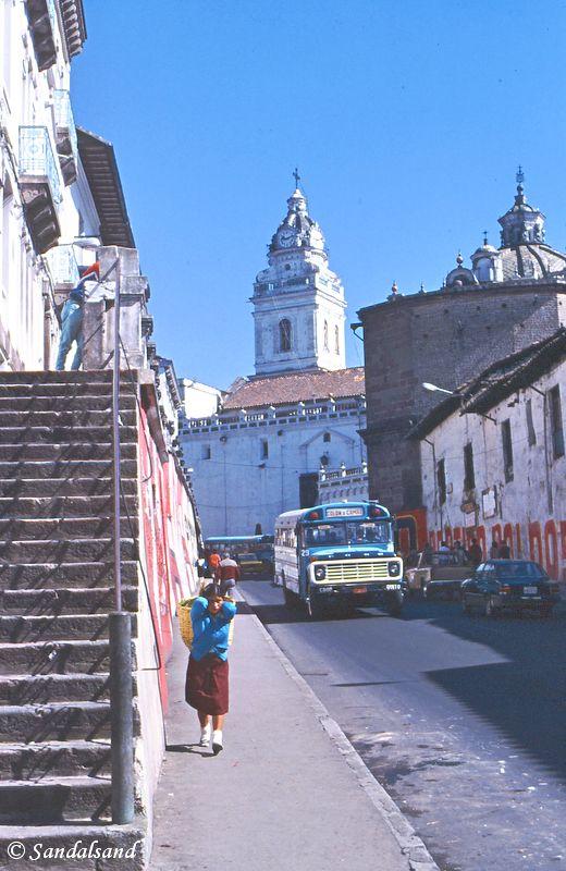 Ecuador - Quito street view