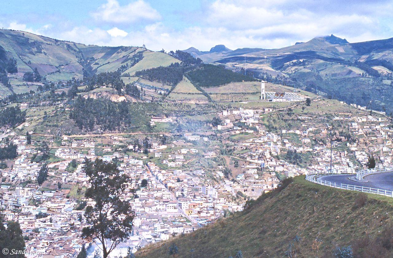 Ecuador - Quito - View from the Cerro Panecillo