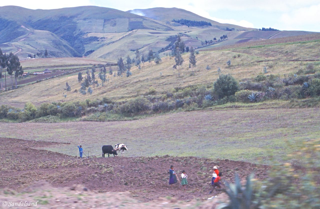 Ecuador - On the way to Otavalo
