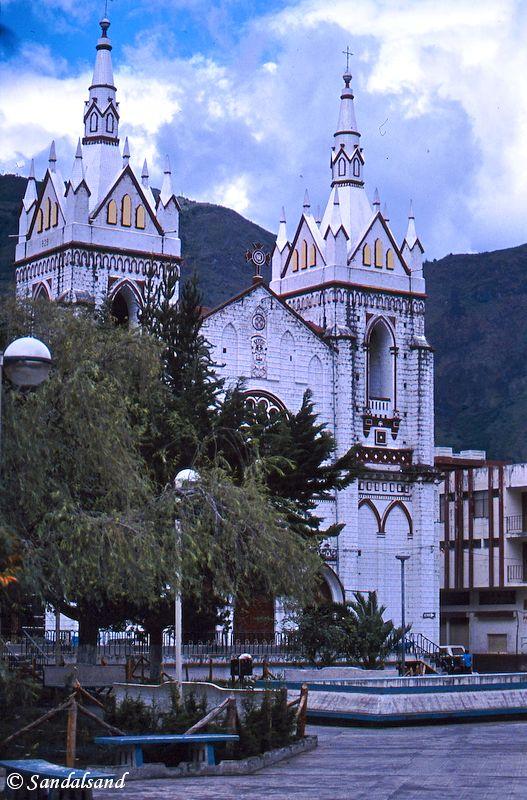 Ecuador - Church in Baños