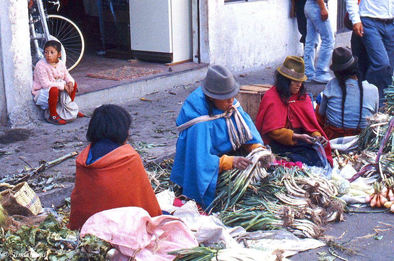Ecuador - Riobamba - Market day