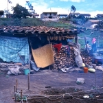 Ecuador - Just another poor home near Otavalo