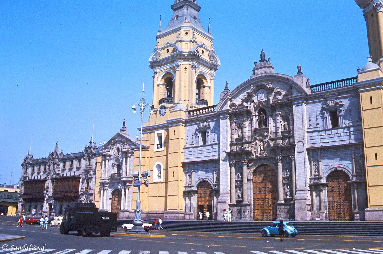 Peru - Lima - Plaza de Armas - Cathedral