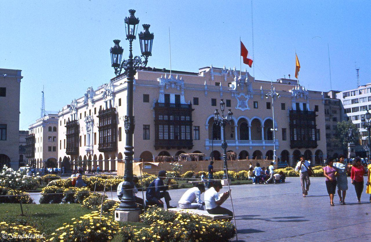 Peru - Lima - Plaza de Armas - City Hall