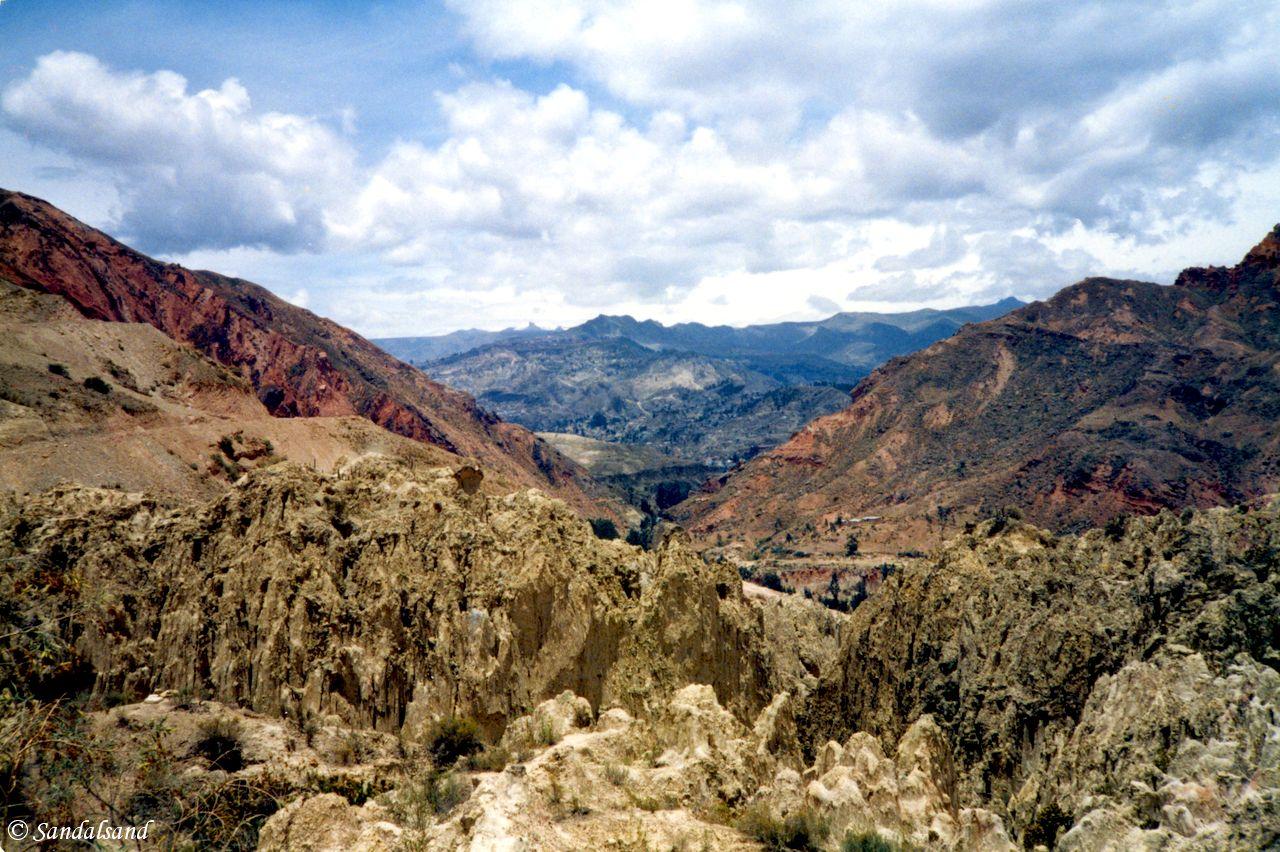 Bolivia - La Paz - Valle de la Luna