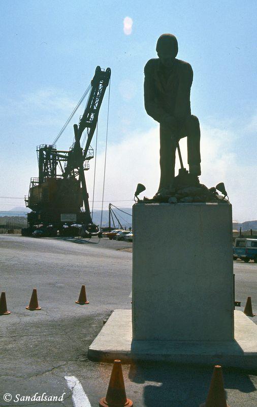 Chile - Chuquicamata mine monument