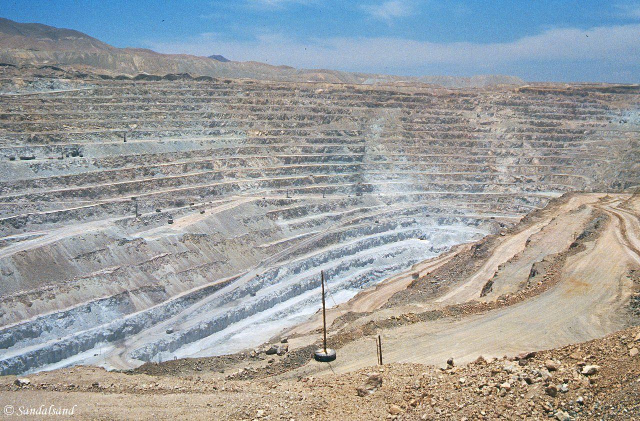 Chile - Chuquicamata mine