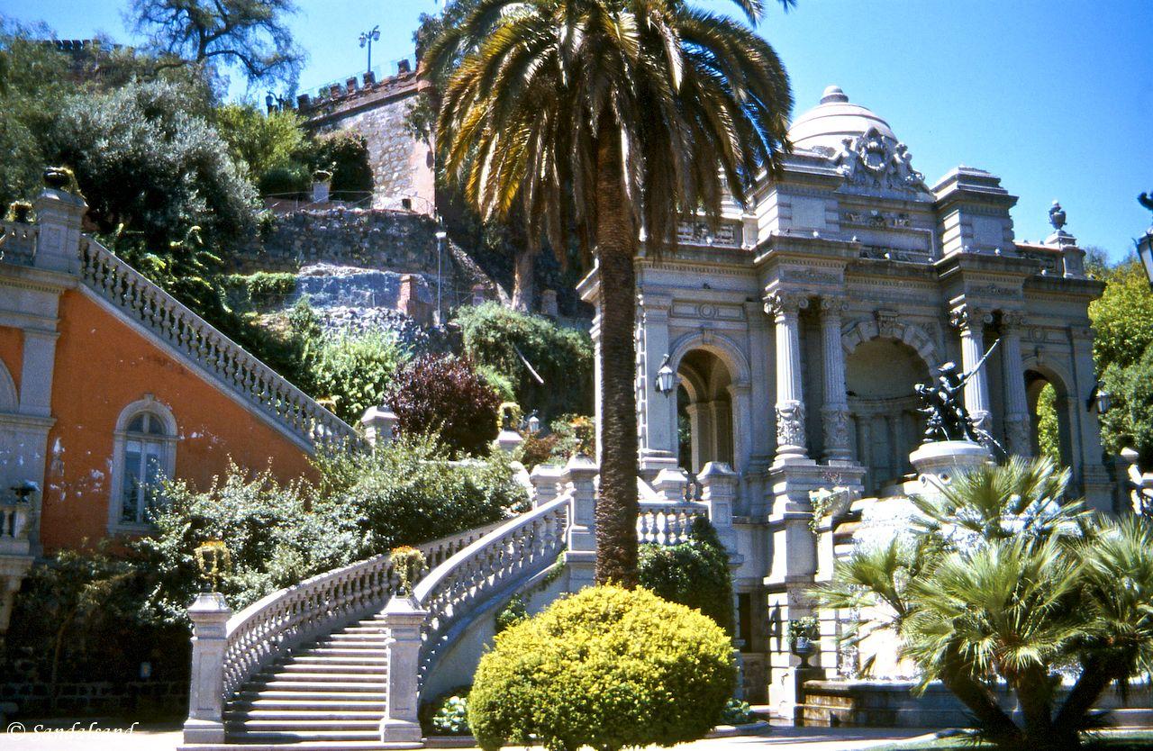 Chile - Santiago - Cerro Santa Lucia