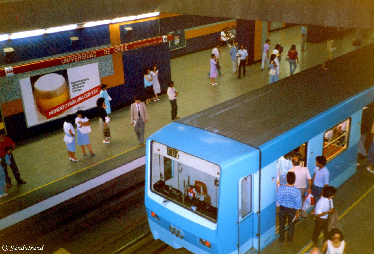 Chile - Santiago metro