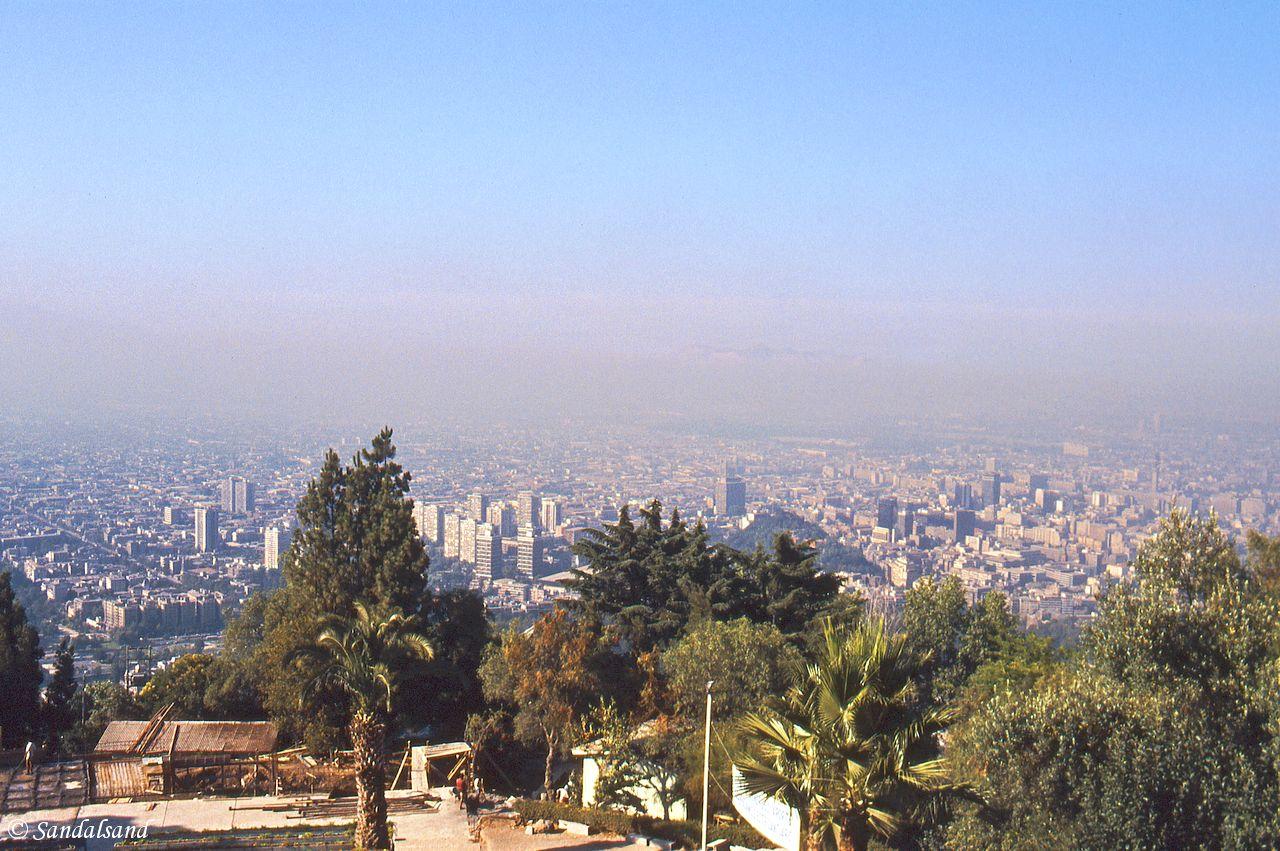 Chile - Santiago - Cerro San Christóbal