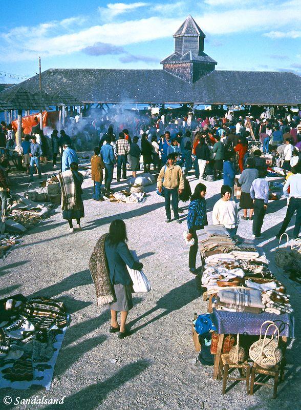 Chile - Chiloe - Dalcahue market
