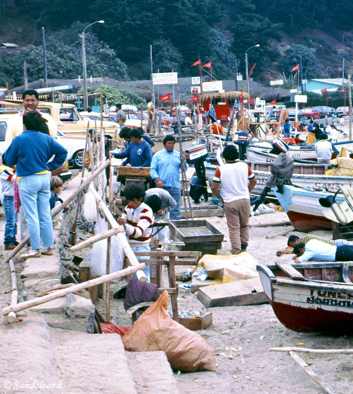 Chile - Horcon fishing village
