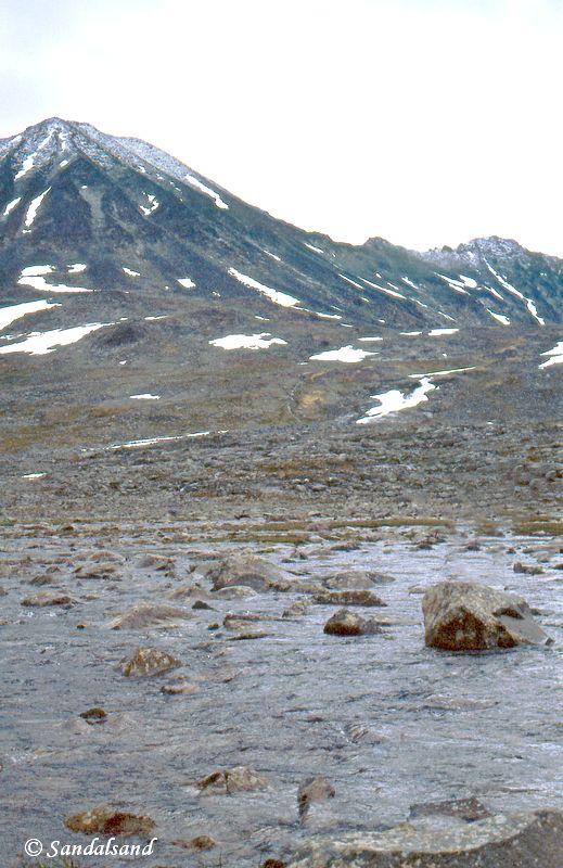 Oppland - Jotunheimen - Krysning av Visa