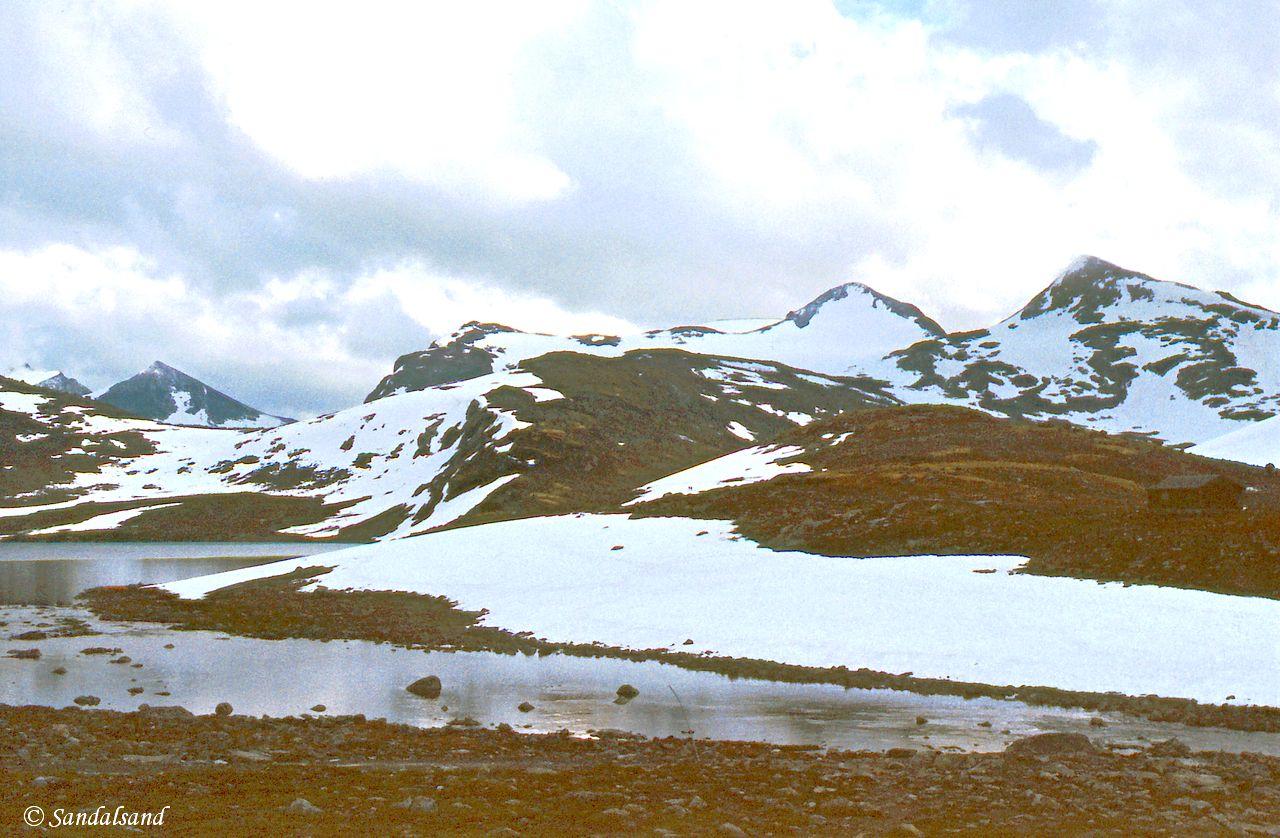 Oppland - Jotunheimen - Mye snøfenner