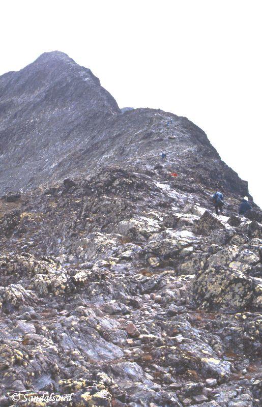 Norway - Jotunheimen - Besseggen - Steep up the ridge, all of it